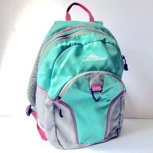 HIGH SIERRA Mini Loop backpack aqua pink GUC
